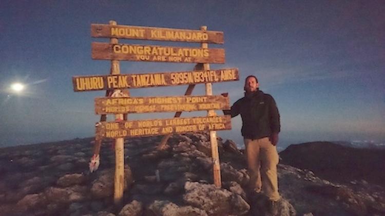 Uhuru Peak Mt.Kilimanjaro