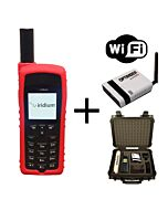 Iridium 9555 WIFI-to-Go Package - Satellite Phone, Solar and Data