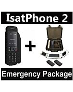 Inmarsat IsatPhone 2 - Emergency Responder Package w/ Solar Panel