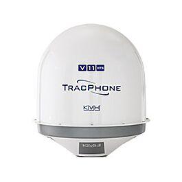 KVH TracPhone V11HTS - 20 Mbps Ku/C Band Marine VSAT - No Labels