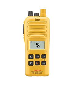 Icom GM1600 Survival Craft 2-Way VHF Radio w/ BP-234 Battery