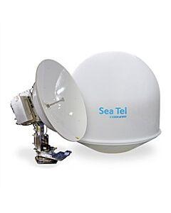 "Sea Tel 5012 VSAT Satellite System Lin 8W Quad 66"" Ethernet & MC"