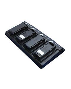 SatStation Four-Bay Battery Charger for Iridium 9555 BAT20801