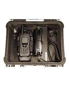 SatStation Extreme Box Dock PTT w/Privacy Handset
