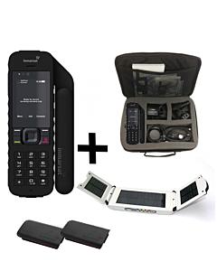 Inmarsat IsatPhone 2 Satellite Phone - Traveler Package w/ Solar Panel & Travel Bag