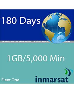 Inmarsat Fleet One - 300MB / 1500 Minutes Global Prepaid SIM Card
