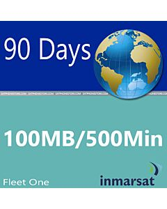 Inmarsat Fleet One - 100MB / 500 Minutes Global Prepaid SIM Card