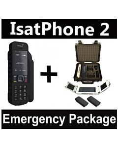 Inmarsat IsatPhone 2 - Emergency Responder Package w/ Solar Panel