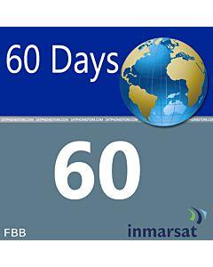 60 Unit Prepaid Fleet Phone/Fleet Broadband SIM Card