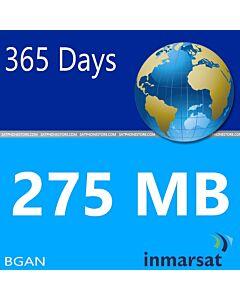Inmarsat BGAN Prepaid 275 MB SIM Card