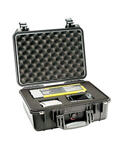Pelican 1450 Case with Pick and Pluck Foam - Black