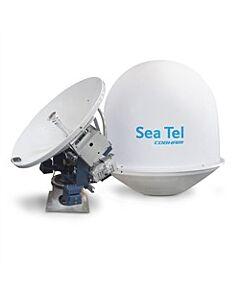 "Sea Tel USAT30 VSAT Antenna System LIN 8W Quad 34"""