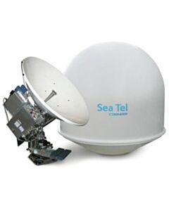 SeaTel 4009-7 X-Pol, Configured for 4 Watt Gilat-A BUC, Quad LNB