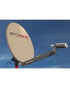 SatStation VK12 - 1.2 M Ku Band VSAT System (Roof Mount)