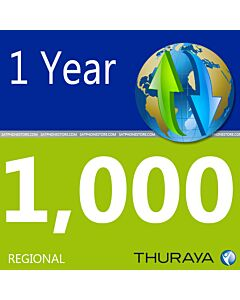 Thuraya 1,000 Unit Scratch Code