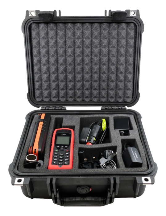 Iridium 9555 Satellite Phone WIFI-to-Go Package with Solar and Data