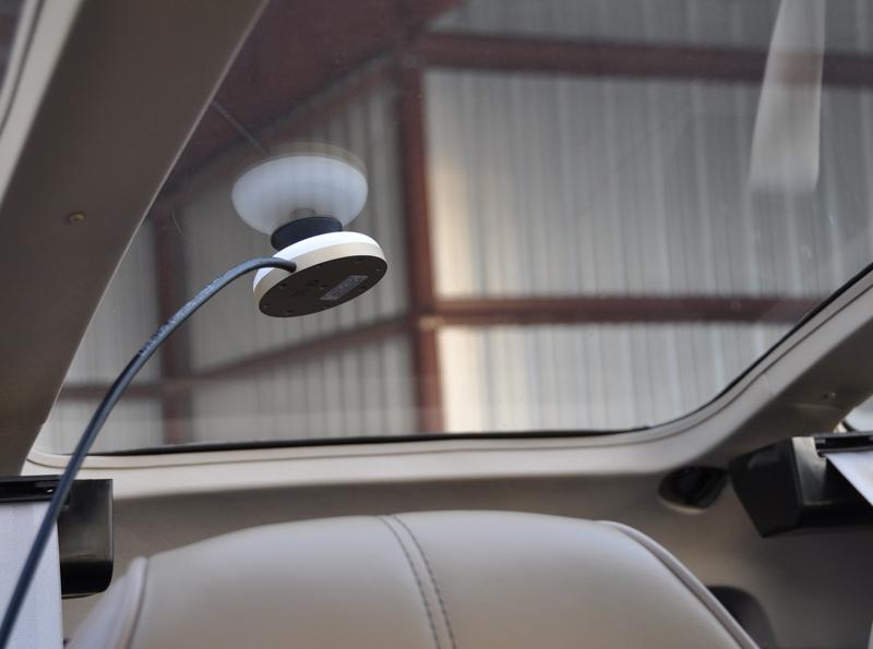 Iridium Glass Mount Aviation Antenna