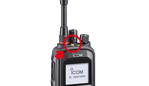 Icom IC-SAT100 Handheld Iridium PTT Radio 3-Pack