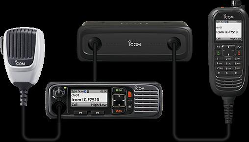 Icom F7510 P25 Compliant VHF Digital Transceiver