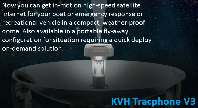 KVH Tracphone V3